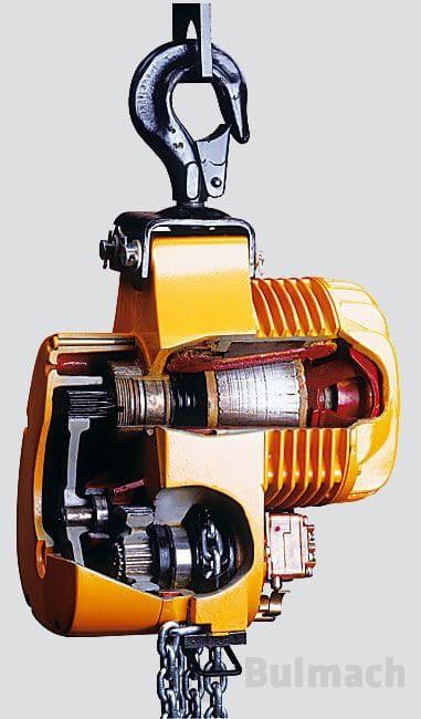 Elektryczny wciągnik łańcuchowy typu B