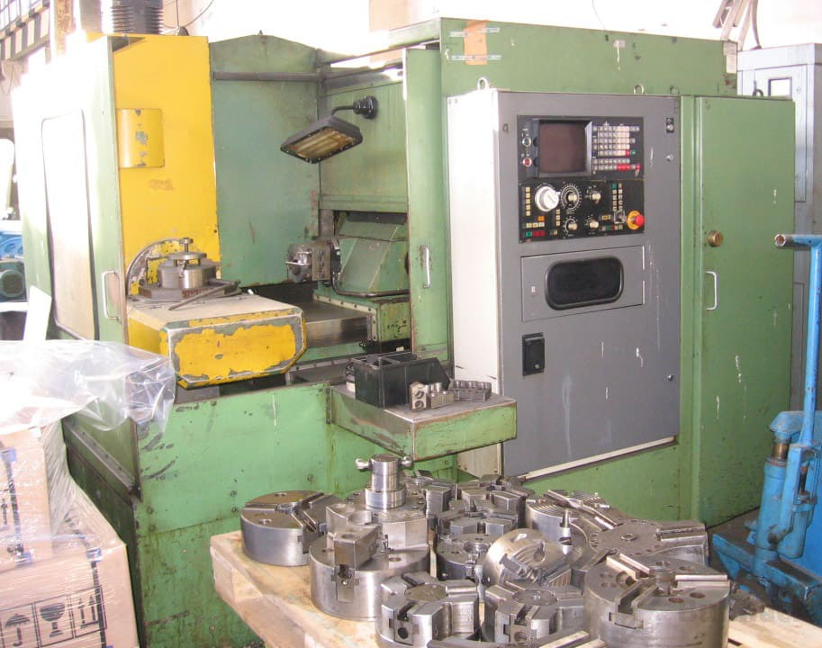 5 - Osiowe Centrum MC 032 - Fanuc 6