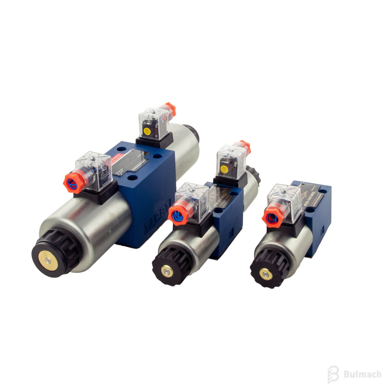 Rozdzielacze hydrauliczne typu CETOP – elektrozawory płytowe