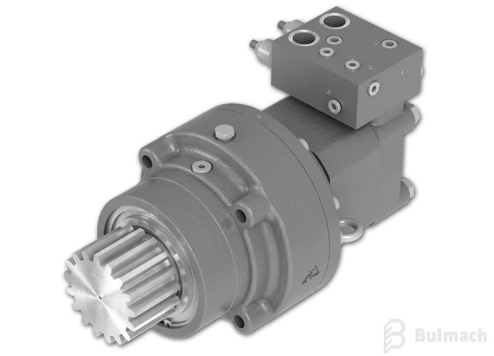 Silniki hydrauliczne M+S  z hamulcem